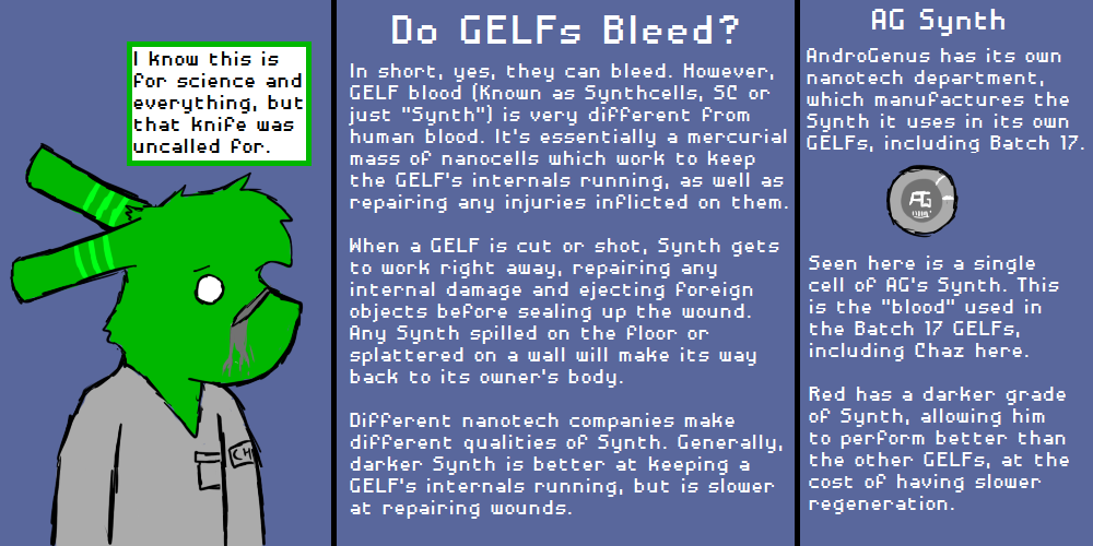 Do GELFs Bleed?
